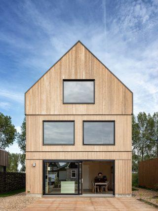 vrijstaand prefab houtskeletbouw Barentsz huis