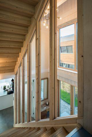 houtskeletbouw Barentsz huis met Scandinavisch gevoel