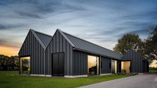 vrijstaand houtskeletbouw Barentsz schuurwoning met stalen dak