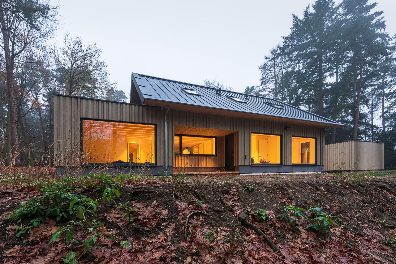 houtskeletbouw Barentsz huis in Oosterbeek
